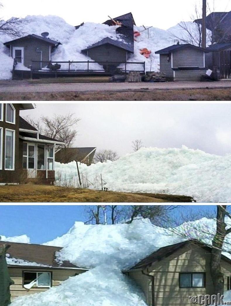 Мөсөн цунами