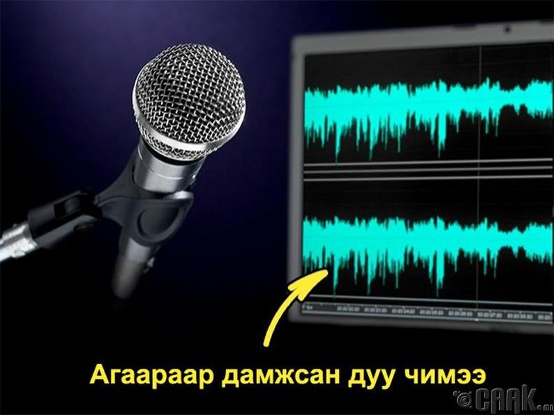 Дуу хураагуурт хүний хоолой яагаад өөр сонсогддог вэ?