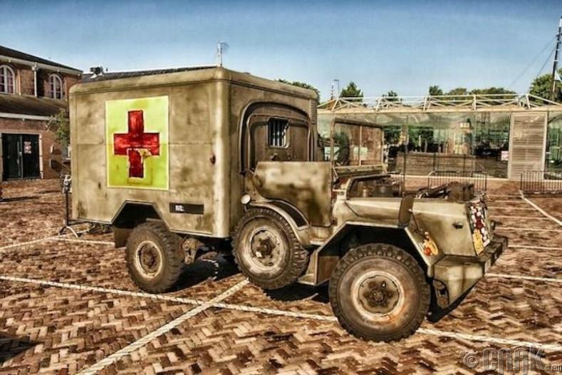 Түргэн тусламжийн машин