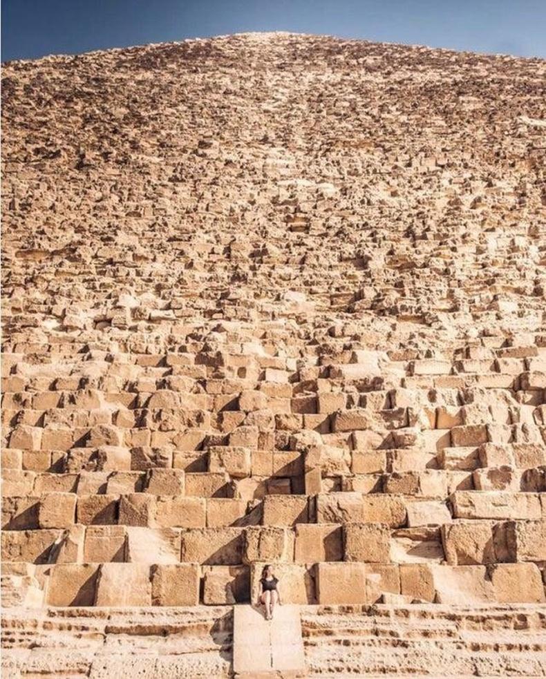 Гизагийн пирамид болон энгийн хүн