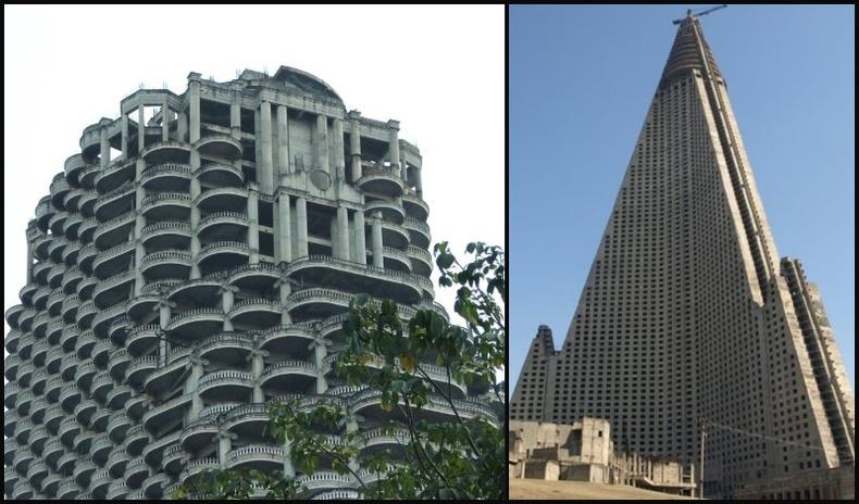 Дэлхий дээрх хаягдсан хамгийн өндөр барилгууд