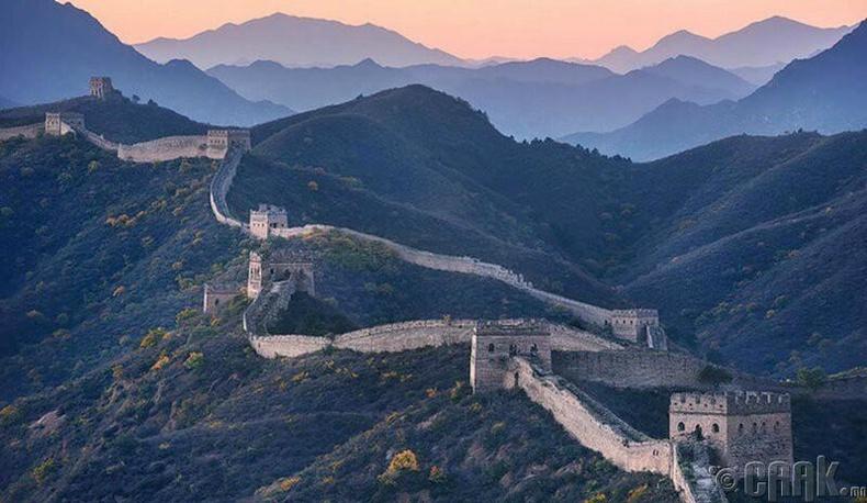 Хятадын Цагаан хэрмийг сансраас харж болно