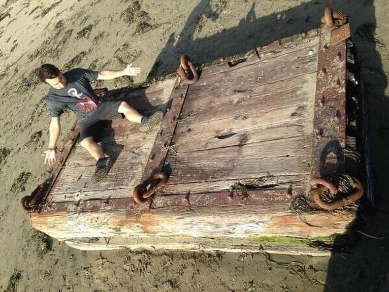 """""""Калифорнийн эрэг дээр гарч ирсэн байсан. Далайн дээрэмчний авдар уу?"""""""