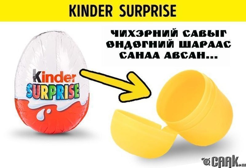 Киндэр сюрприз