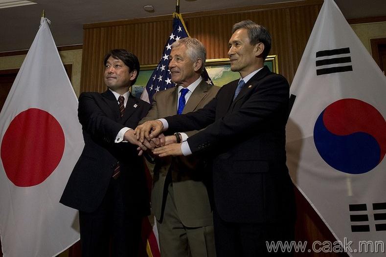 Солонгос болон Японы хоорондын харилцаа