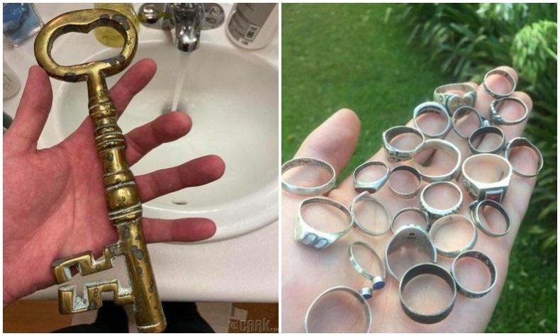 Хүмүүсийн металл хайгчийн тусламжтай олсон эртний, хосгүй үнэтэй эд зүйлс