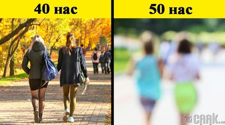 40-50 насанд гардаг өөрчлөлтүүд
