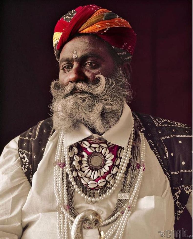Энэтхэгийн Рабари овгийн эрэгтэй