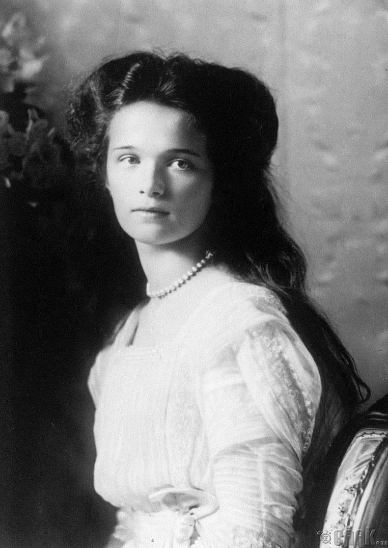 Гүнгийн авхай Ольга - 1895-1918