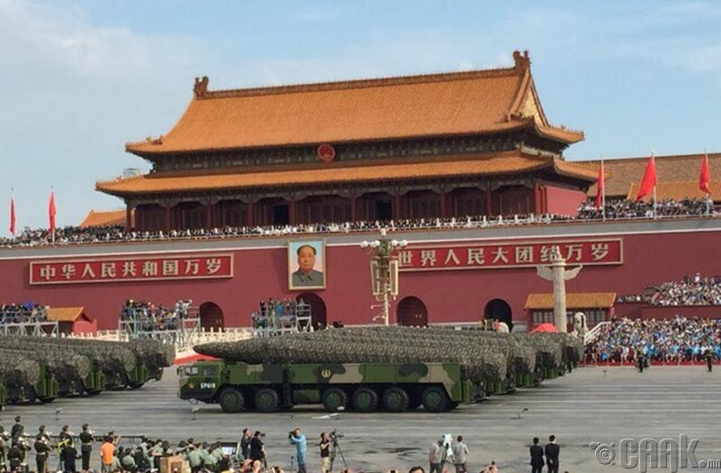 Хятад бол хөрөнгө чинээ ихтэй улс
