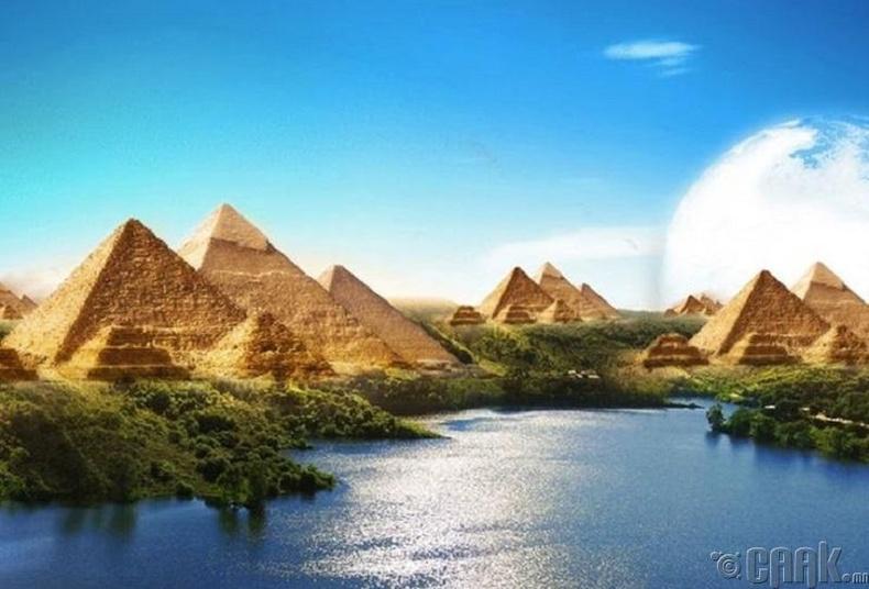 Египетэд 130 пирамид илрүүлсэн гэдэг