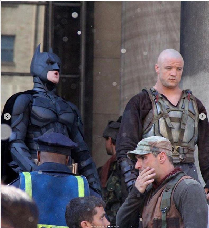 """Кристиан Бэйл (Christian Bale) болон Том Харди (Tom Hardy) """"The Dark Knight Rises"""" кино"""