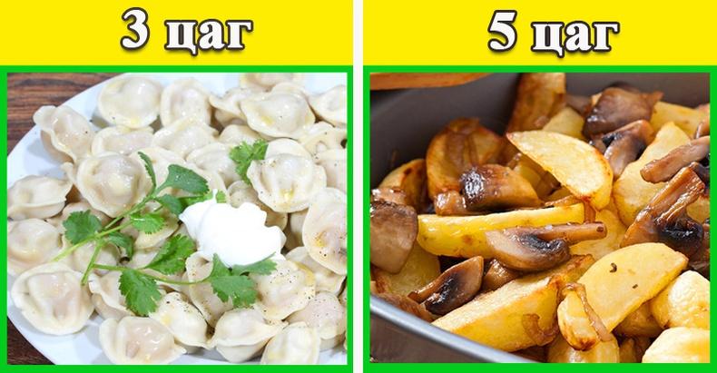 Таны идсэн хоол хэр хурдан боловсордог вэ?