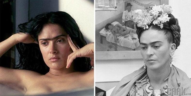 """Салма Хайек - """"Frida"""" кинонд зураач Фрида Калогийн дүрд"""