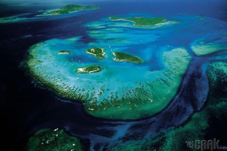 Гэгээн Винсентийн арал, Каррибын тэнгис