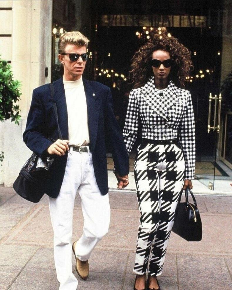 Дэвид Боуи болонИман нар, Парис хот, 1992 он