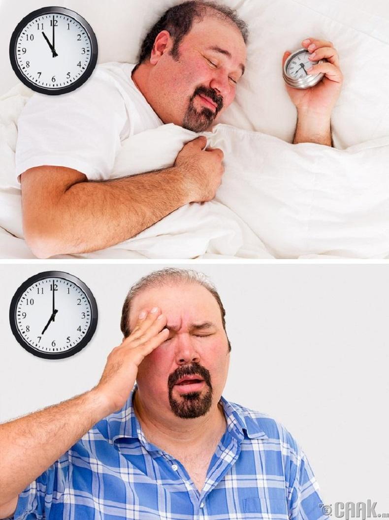 Наймаас бага, дөрвөөс их цаг унтдаг хүмүүс урт насалдаг