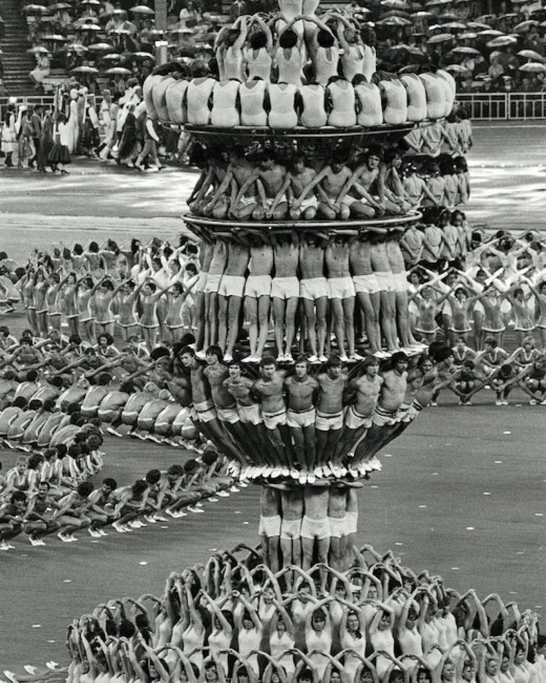1980 оны Москвагийн олимпын нээлтийн ёслолын үеэр