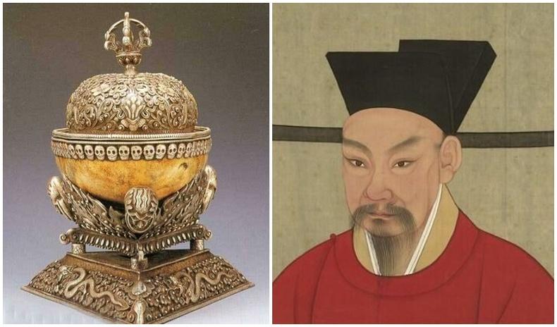 Монголын язгууртнууд Хятад хааны гавлын ясаар хийсэн аягыг хэрэглэдэг байсан уу?