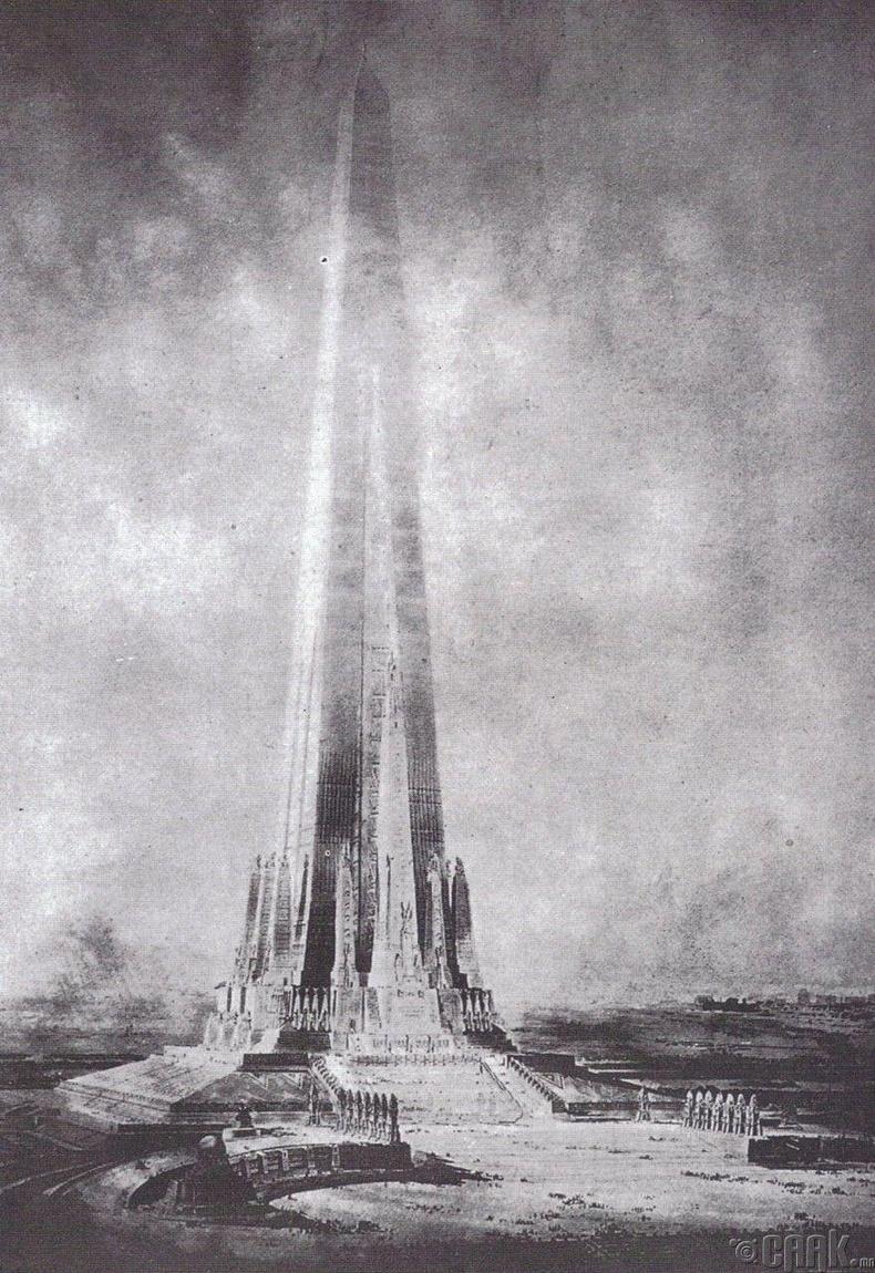 """""""Дэвшлийн гэрэлт цамхаг"""" - Чикаго хот, 1891 онд төлөвлөгдсөн"""