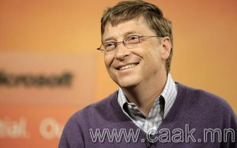 Билл Гейтсийн талаарх 20 сонирхолтой баримт