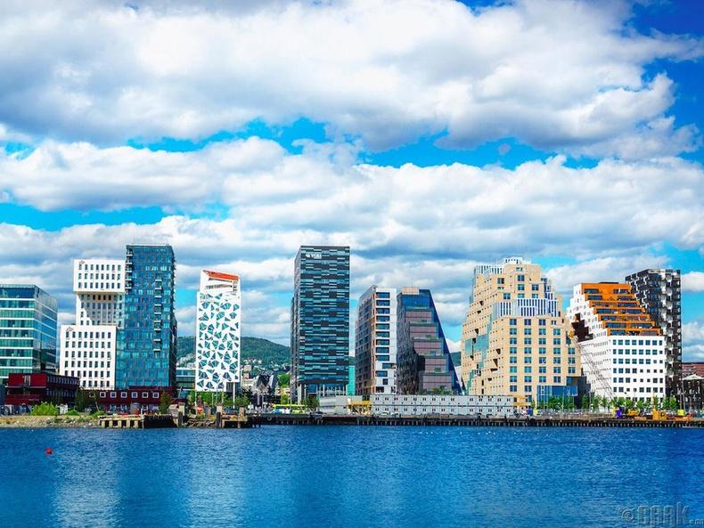 Норвеги улс, Осло хот- 53.5%