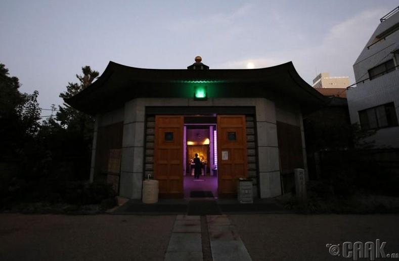 Токиогийн төв дэх оршуулгын газар