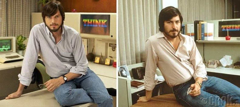 "Эштон Катчер - ""Jobs"" кинонд Стив Жобсын дүр"