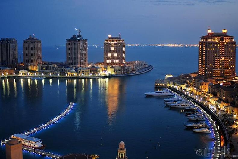 Катарын сувд, Доха