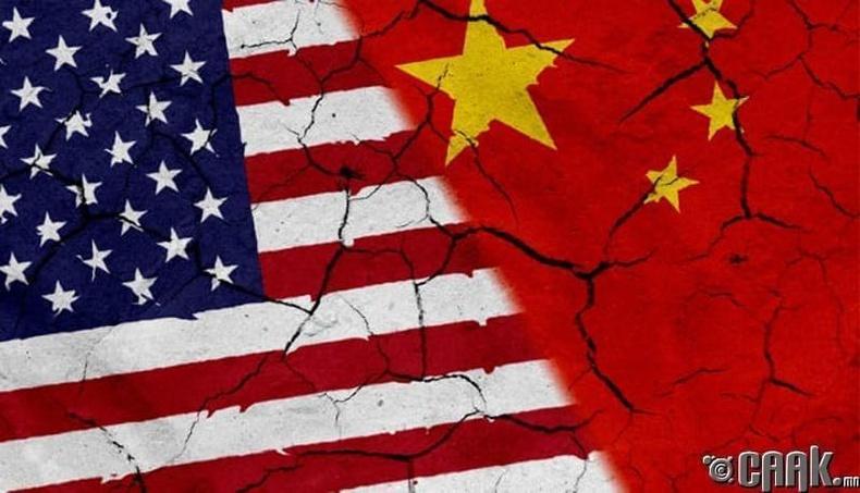 Хятад Америк хоёр дайтах магадлалтай