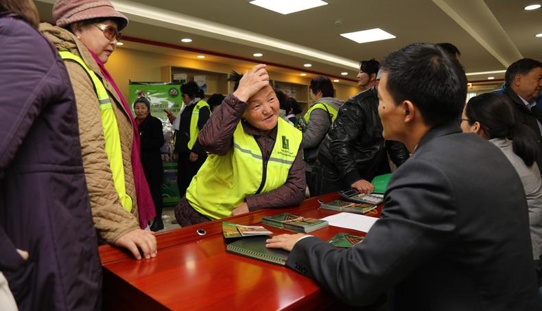 """ХААН Банк Чингэлтэй дүүрэгт """"Өрхийн ногоон зээл""""сурталчлах өдөрлөг зохион байгууллаа"""