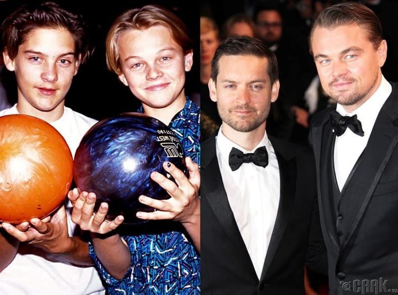 Леонардо ДиКаприо (Leonardo DiCaprio) болон Тоби Магирь (Tobey Maguire)