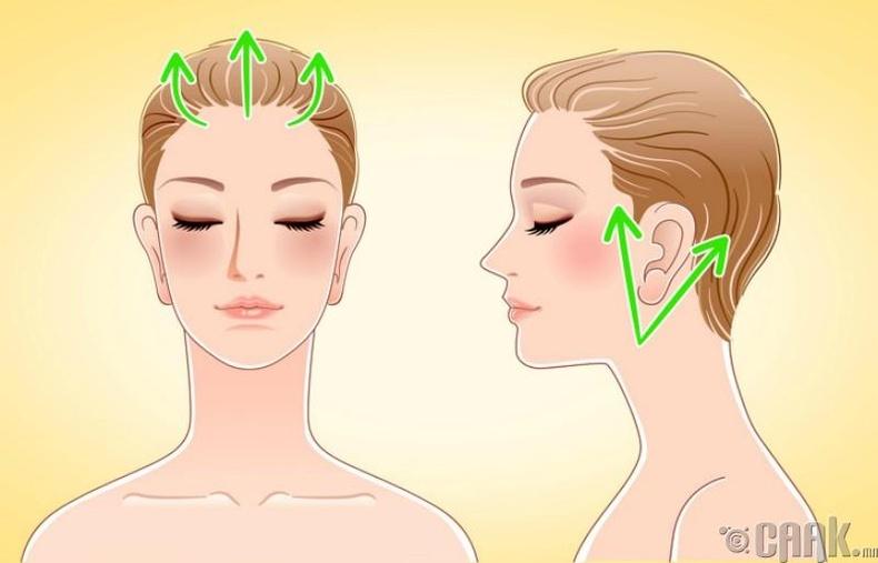 Нүүрний арьсаа сэрээж, өнгийг нь сэргээе