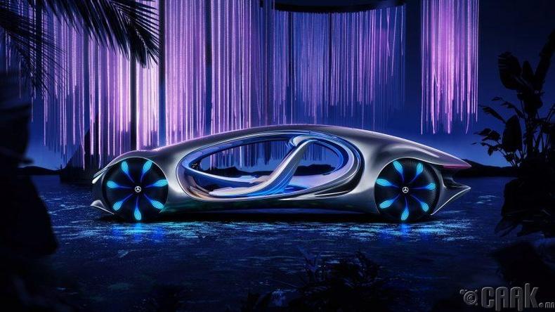 Mercedes-Benz VISION AVTR- супер машин