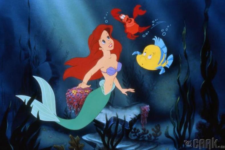 """""""The Little Mermaid"""" хүүхэлдэйн кино"""