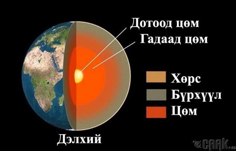 Цөмийн бүтэц