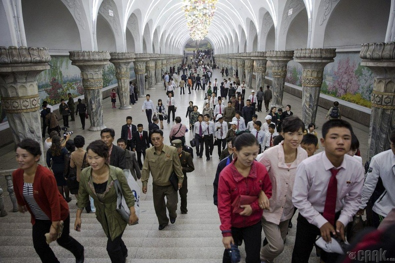 Хойд Солонгосын метроны буудал