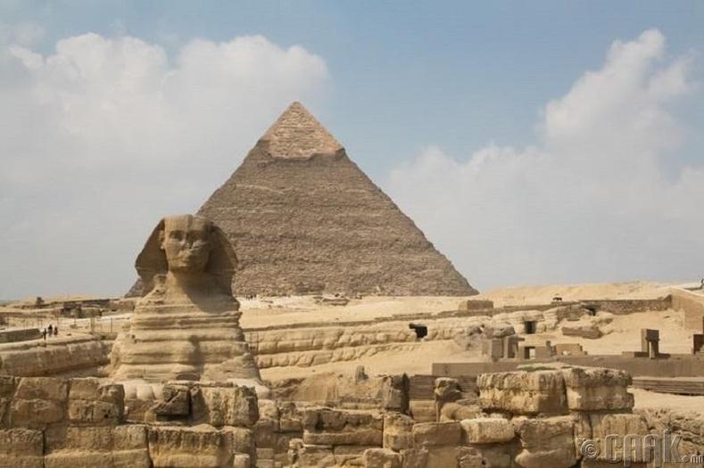 Пирамидан доторх бүх зүйлийг бид мэдэхгүй