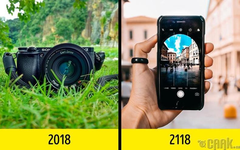 Гэрэл зургийн болон видео бичлэгийн аппарат