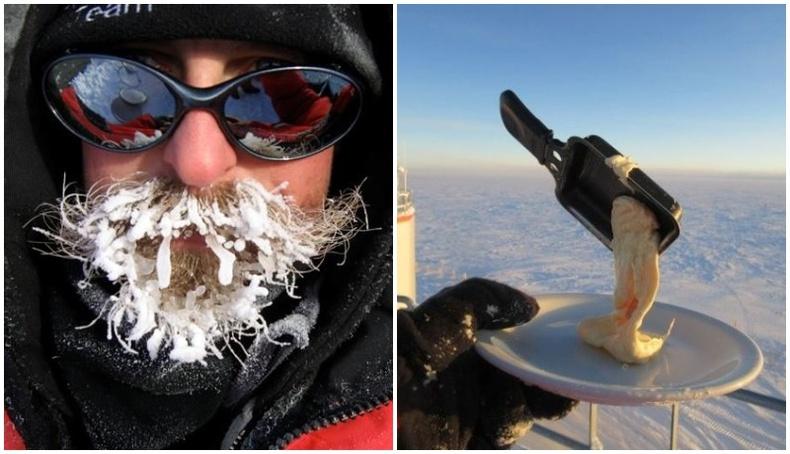 Антарктидын -80 градусын хүйтэнд хүмүүс ингэж амьдардаг