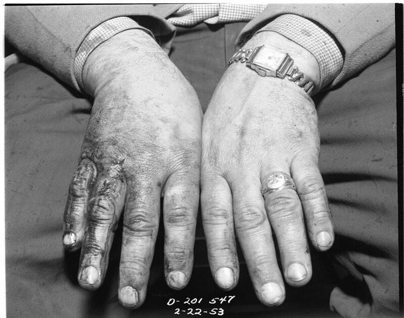 33 настай алуурчин Кларенс Викери, 1953