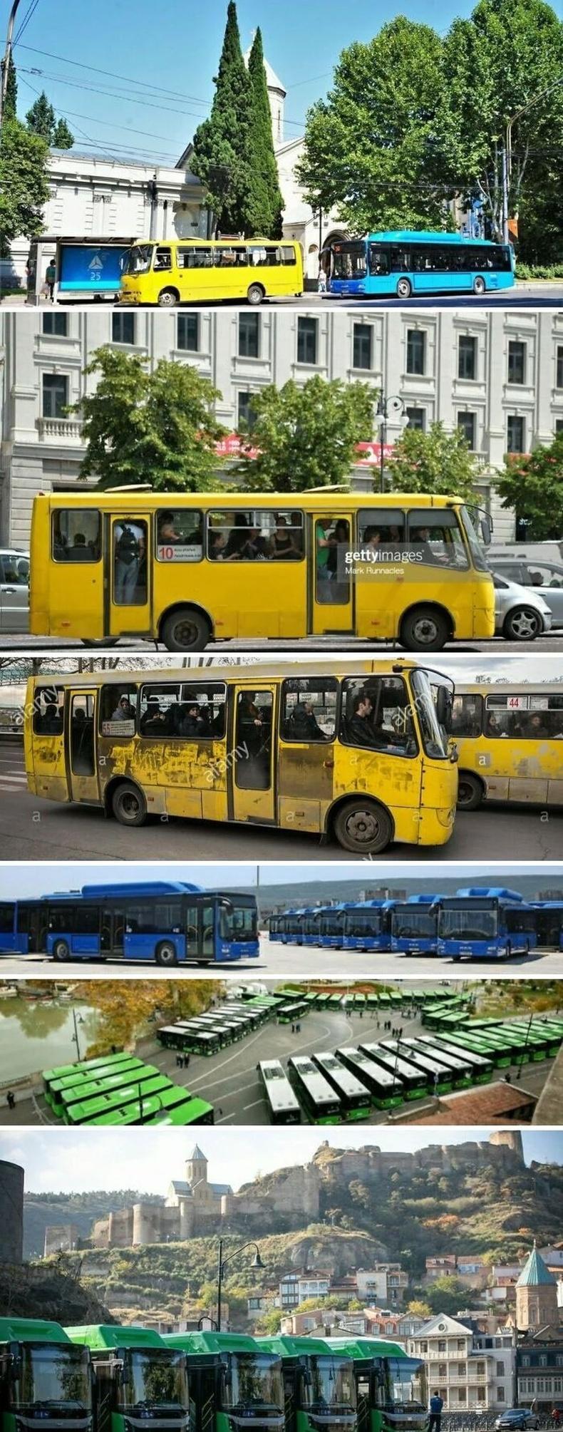Гүрж улс цахилгаан автобусаар баазаа шинэчилжээ