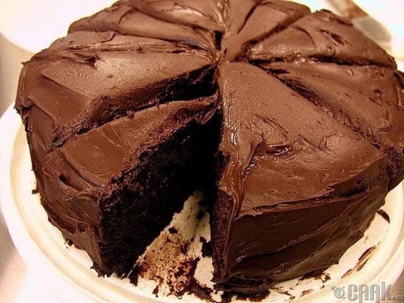 Шоколадтай бялуу