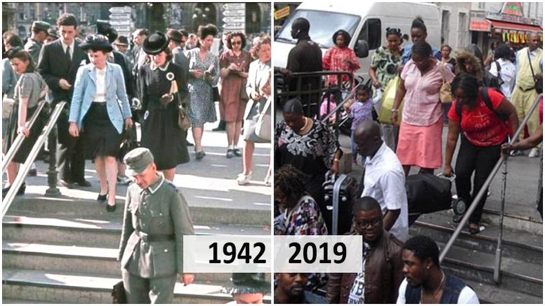 Үзэсгэлэнт Парис хотыг цагаачид хэрхэн өөрчилсөн бэ? (20 фото)
