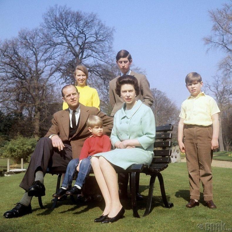 Хатан хааны гэр бүл, 1968 он