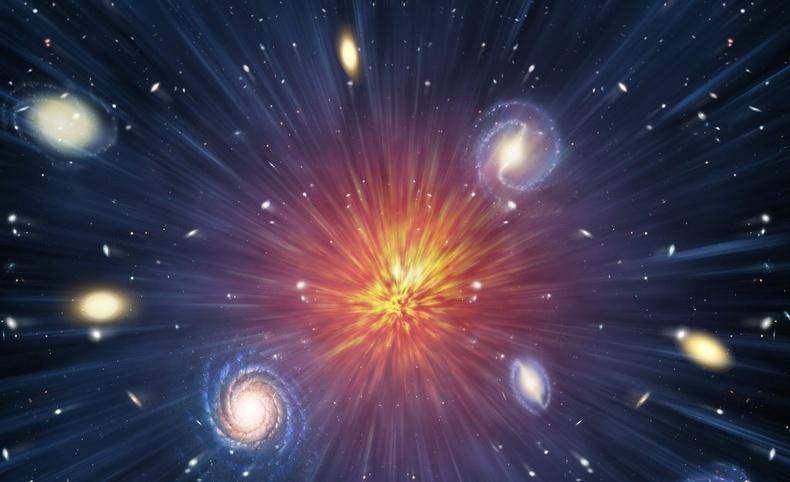 Их тэсрэлтийн өмнө сансар огторгуй ямар хэлбэртэй байсан бэ?