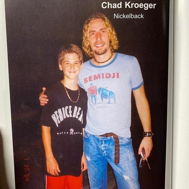 Nickelback хамтлагийн дуучин Чэд Крюгер