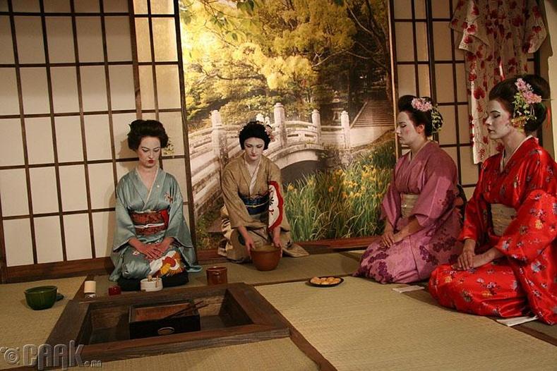 """Чаною -""""Японы цайны ёслол"""""""