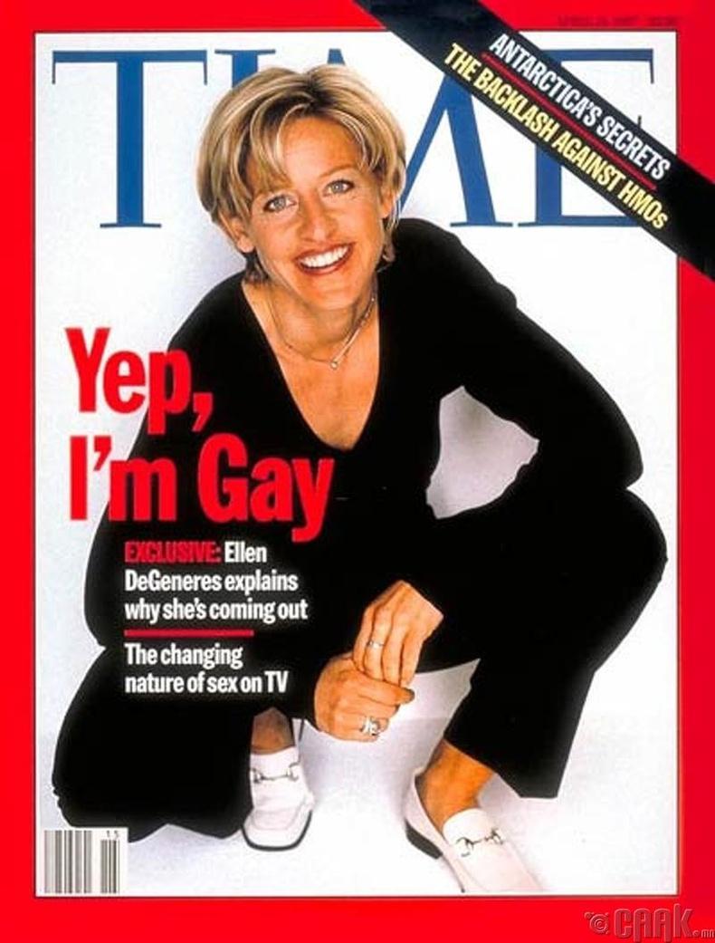 """""""Time"""" сэтгүүл, 1997 оны дөрөвдүгээр сарын дугаар"""