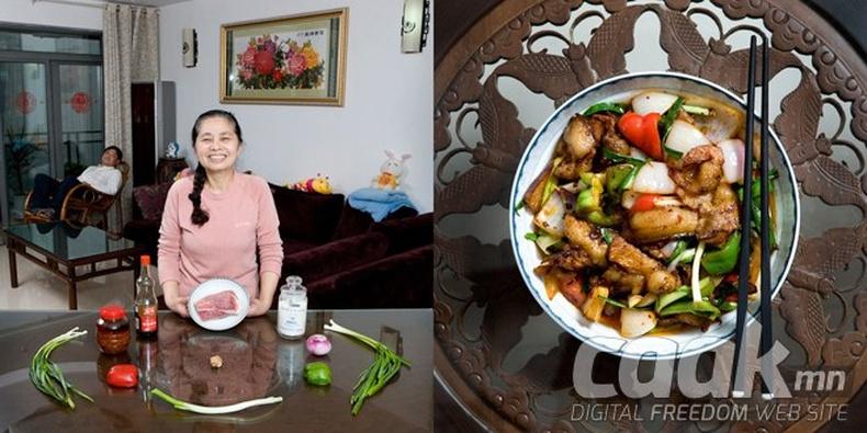 Эмээгийн амттай хоол